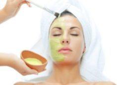 Домашняя маска для жирной кожи лица