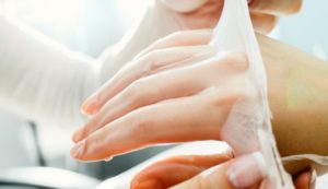 Парафиновая маска для рук
