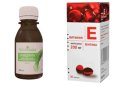Глицерин и витамин Е для лица: рецепт маски и пропорции